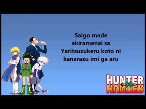 Departure Hunter X Hunter Full
