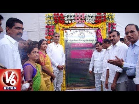 Minister Harish Rao Inaugurates Development Works In Masaipet | Medak District | V6 News