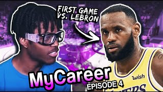 KENNY HARDAWAY FACES LEBRON JAMES | NBA 2K20 MYCAREER #4