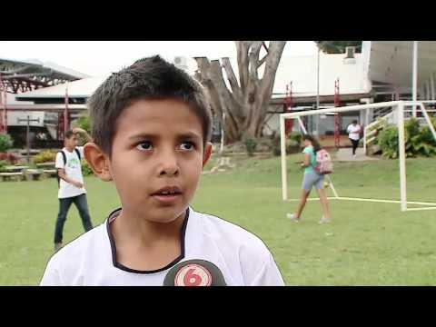 100 niños de la Fundación Real Madrid disfrutaron de su fiesta del día del niño