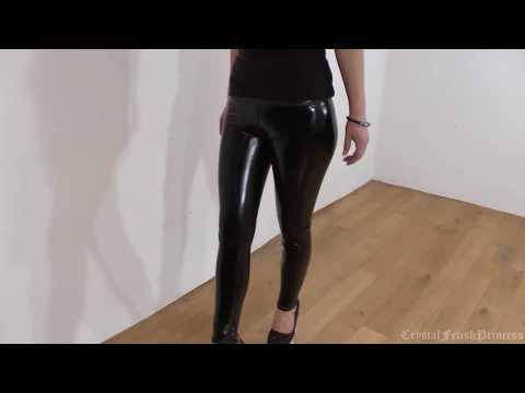 Sexy Slinky Latex Liquid Leggings Fetish II