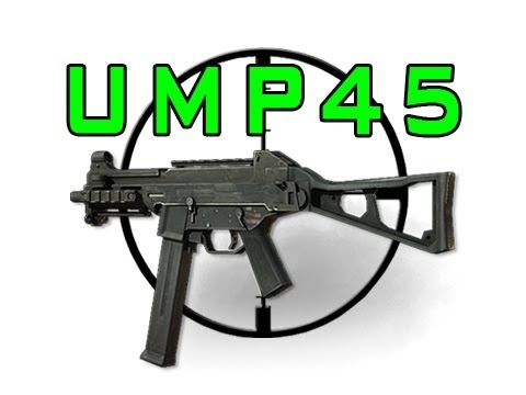 MW3 : : Multiplayer Gun Guide : : UMP45