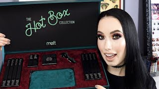 NEW MELT COSMETICS | ENTIRE HOT BOX COLLECTION REVIEW and SWATCHES | lesleydoesmakeup