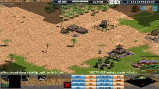 AoE 44 Random Hà Nội vs Liên Quân POW Ngày 06-11-2017