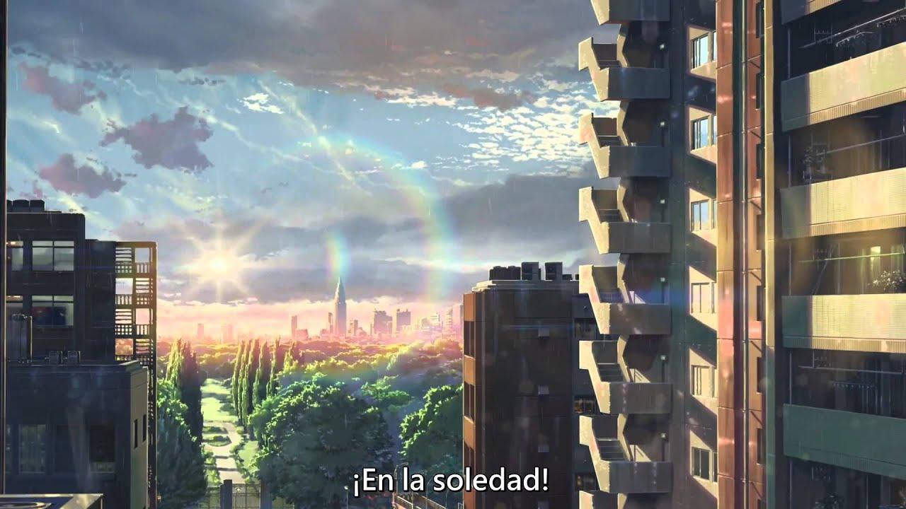 Kotonoha no niwa el jardin de las palabras trailer sub for El jardin de las letras