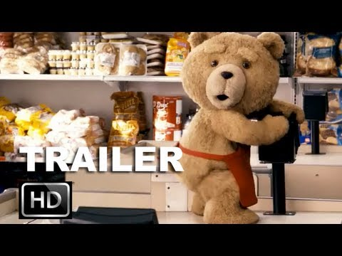 Ted Red Band Trailer (HD) - Mark Wahlberg Wishes His Teddy Bear To Lif...