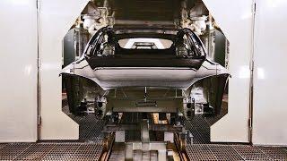 Tesla Model S - Production [CAR FACTORY]