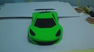 Simple PaperCraft Car