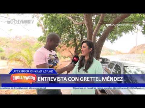 Reportero Chollywood Alfredo Entrevista con Grettel Méndez