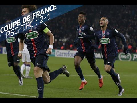 Coupe de France, 16es de finale : Paris SG - Toulouse FC (2-1), les buts