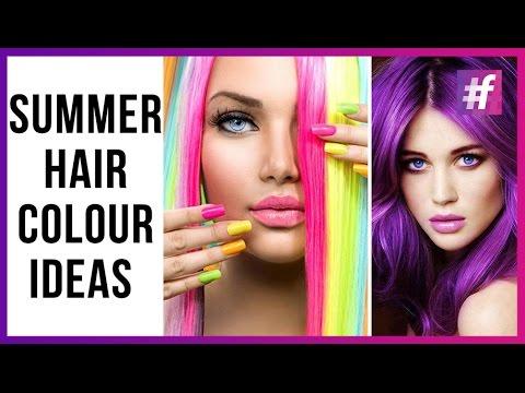 Crazy Hair Colour Ideas | 2016 Summer Hair Trends