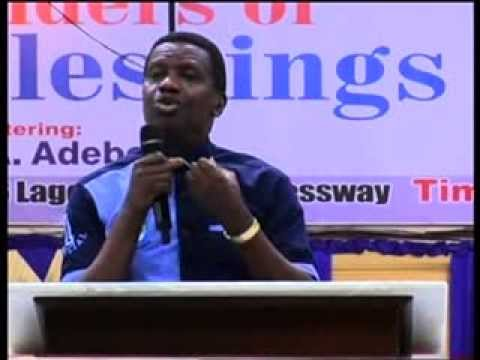 SOD Convention 2013- Pastor E. A. Adeboye