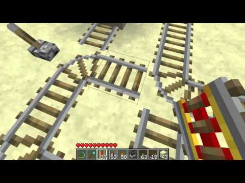#Minecraft 1.8 - Multi-directional train station [Tutorial]