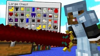Minecraft OVERPOWERED MODDED BATTLEDOME CHALLENGE - Minecraft Mod