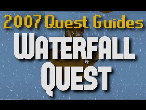 Runescape 2007 Quest Guides: Waterfall Quest