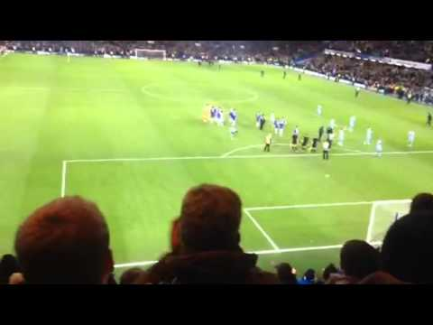 Chelsea fans boo Frank Lampard at Stamford Bridge v Man City