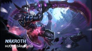 Nakroth [ Hướng Dẫn Bỏ Túi ] Build Đồ Chuẩn Và Bảng Ngọc Chuẩn Mùa 6