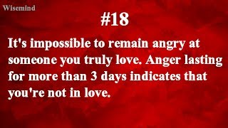 42 Amazing Psychological facts on love