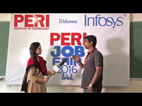 PERI JOB FAIR 2016 - Infosys