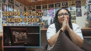 "Marvel's Agents of SHIELD 5x22 REACTION & REVIEW ""The End"" S05E22 