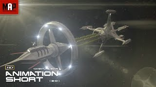 "Sci-Fi VFX 3D Animated Short Film ""GALAXY OF GHOSTS: INTRODUCTION"" Space Thriller by Serge Patlai"