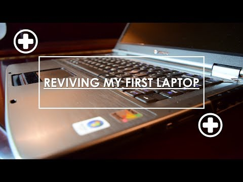 Reviving my First Computer: The Gateway MT6458 Laptop