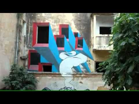 Immortal Art Studio presents - COMBO, by BLU and David Ellis. Graffiti animation.