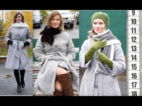 Я ШЬЮ: Пальто со съемным утеплителем Гусиная лапка ПОШИВ+ПРИМЕРКА