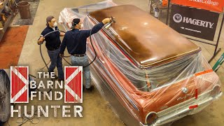 Part 1/3 - Tom restores a Country Sedan he found in a junkyard | Barn Find Hunter - Ep. 60