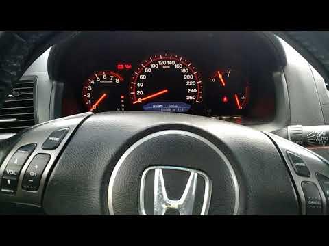 Запуск Honda Accord 7 2.0L зима  -30