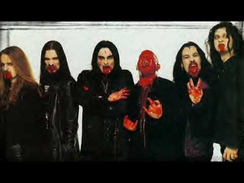 Cradle Of Filth - A Dream Of Wolves In The Snow(Live) 1996