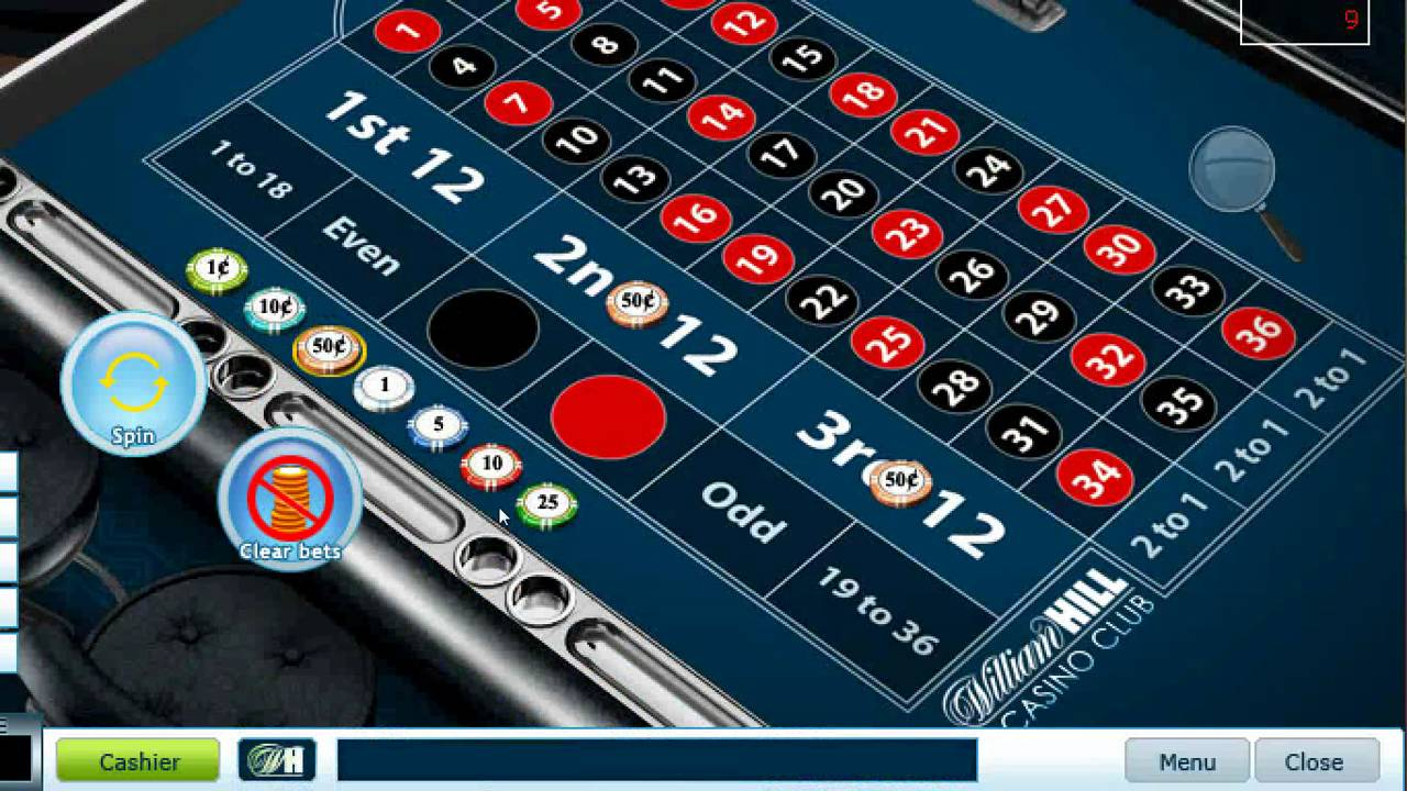 online william hill casino book wheel