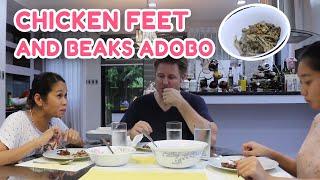 CHICKEN FEET & BEAKS ADOBO w/ POKWANG AND LEE O'BRIAN