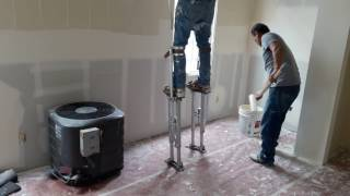The Best Drywall and Mud Installers in the world ! ...This guy is on a God level.
