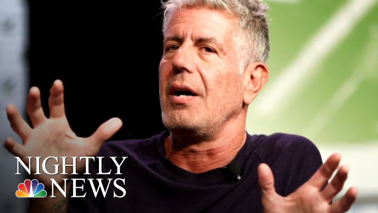 Anthony Bourdain, Celebrity Chef And 'Parts Unknown' Host, Dies At 61 | NBC Nightly News