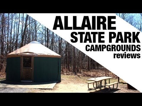 Allaire State Park Campgrounds (NJ) Review