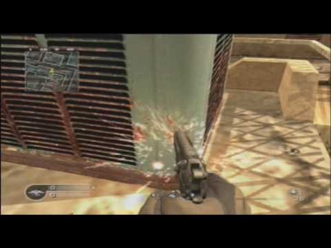 CoD 4 Backlot glitch with Tutorial (HARD)