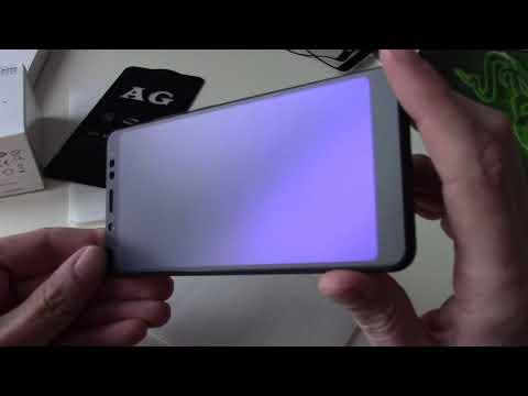 AG Matte Full Glue 5D Tempered Glass - матовые рамочные стекла на примере Xiaomi Redmi Note 5