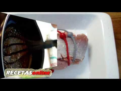 Lomo de cordero caramelizado - Recetas de cocina RECETASonline