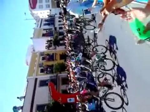 Vuelta ciclista a espa�a Mairena del alcor. 2014