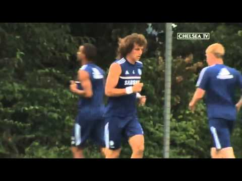Blues News: Preparations for AS Roma...