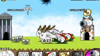The Battle Cats Reindeer Fish Cat!