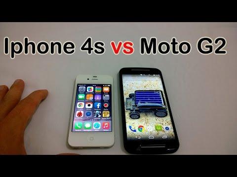 iPhone 4s vs Novo Moto G 2014 [Comparativo]