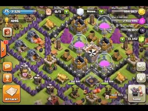 Clash of Clans - Clan Base Reviews - TH7-TH8