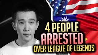 4 People ARRESTED Over Playing League of Legends