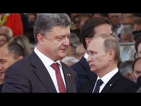 Ukraine Signs Truce With Pro-Russia Rebels