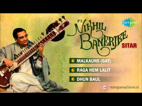 Pandit Nikhil Banerjee   Sitar   Hindustani Classical Instrumental...