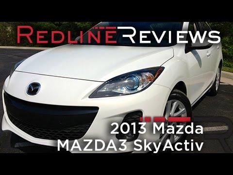 Redline Review: 2013 Mazda MAZDA3 SkyActiv