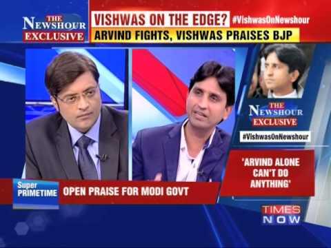 Kumar Vishwas on AAP founder-member Shanti Bhushan