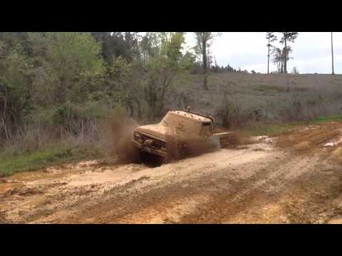 79 ford in deep mud